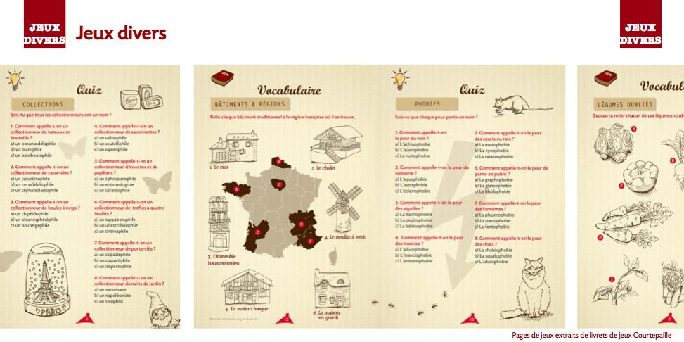 jeux-quizz-livret-jeux-Courtepaille-julie-Miseray