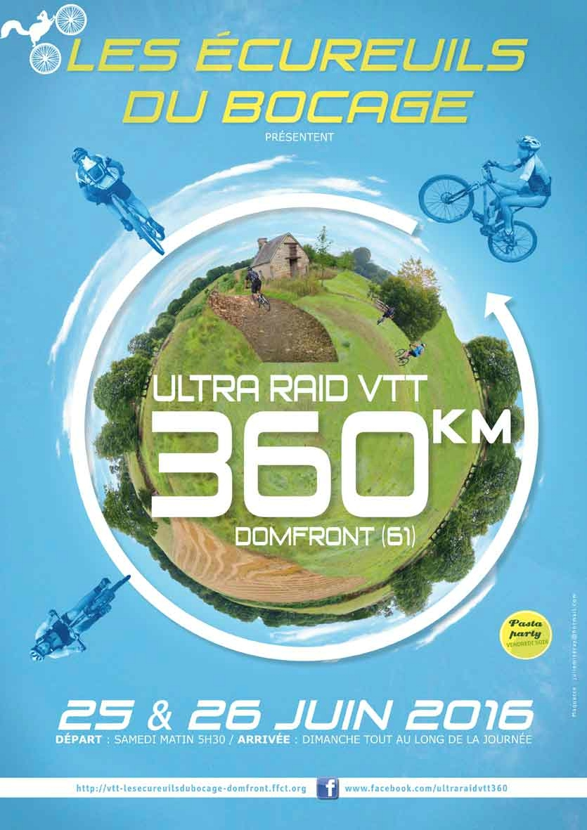 affiche Ultra Raid 360 2016