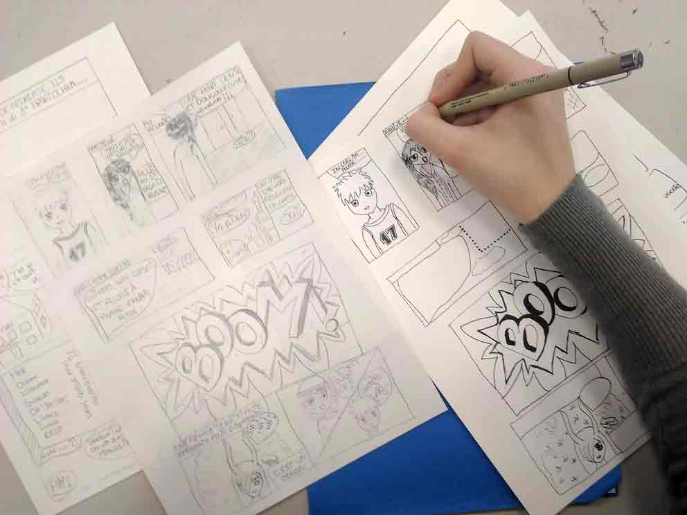 atelier-BD-participative-crayonné-encrage