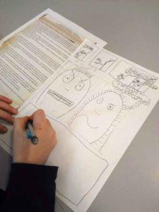 atelier-BD-participative-recherche-personnage-decoupage-planche2