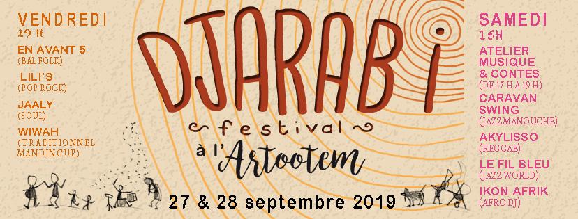 Programme DJARABI Festival - 27 et 28 septembre à Annecy